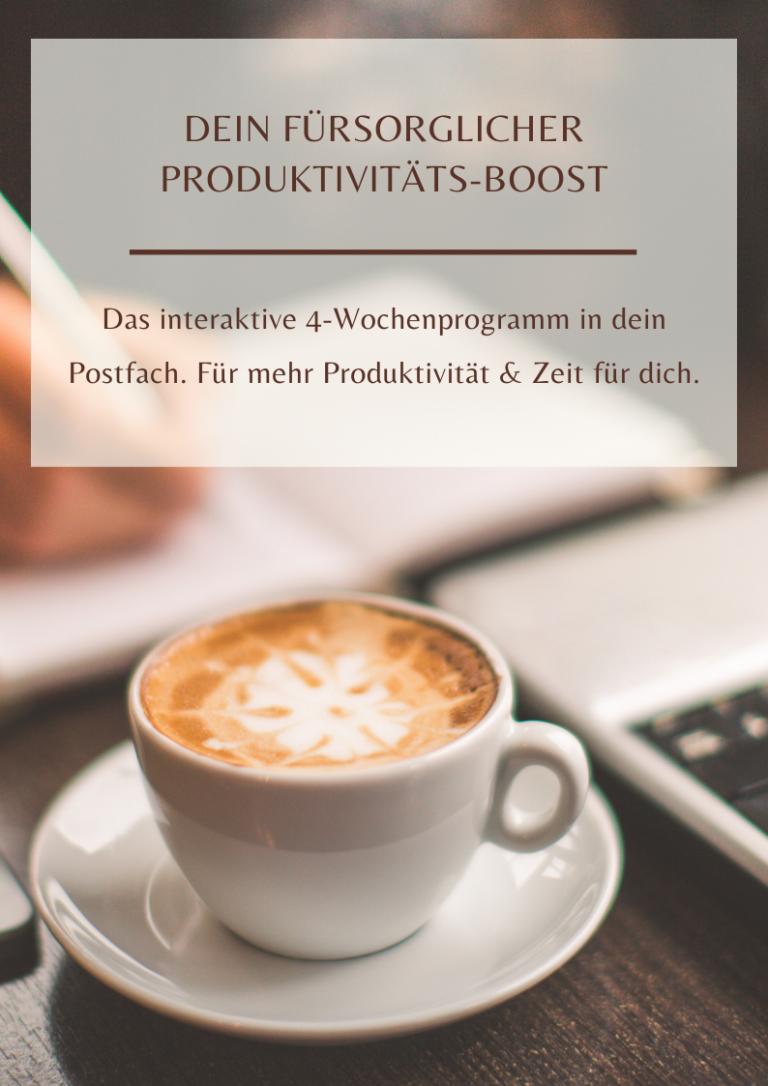 Produktivitäts-boost